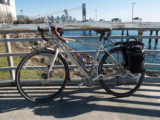 Raleigh Sojourn on Seattle's Waterfront