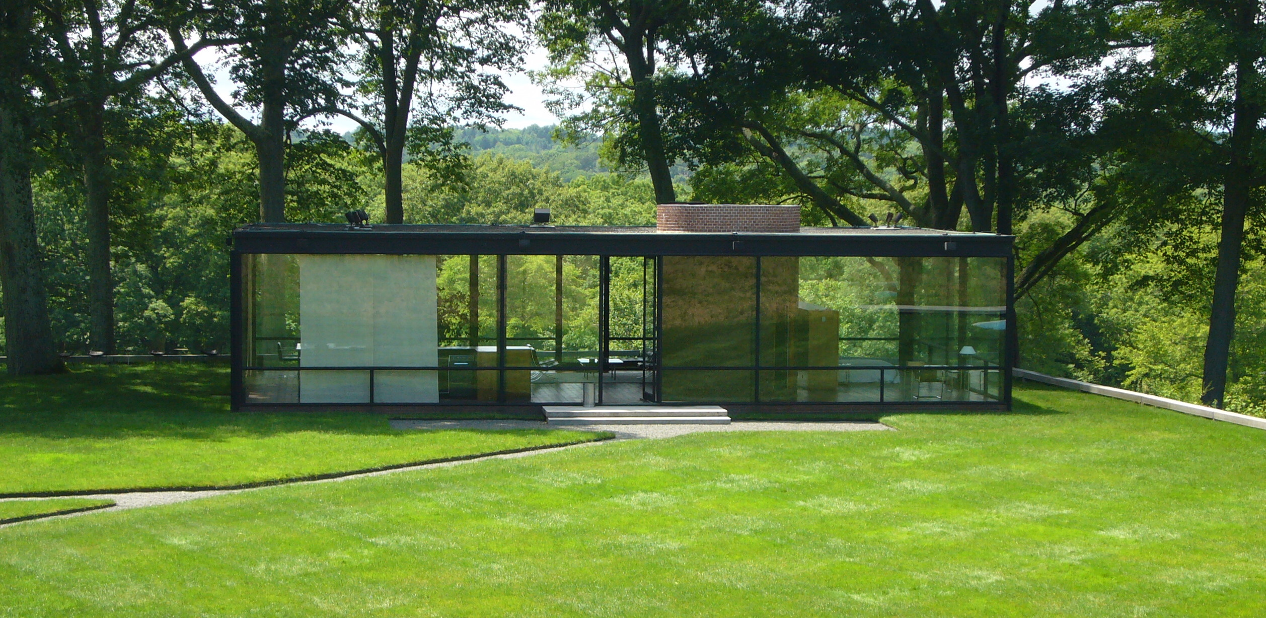 Glasshouse - Philip Johnson