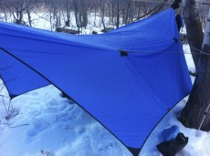 My tarp deployed